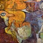 """""""Conversation in masks"""" by arartplatform"""