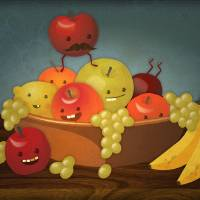 """Froot Bowl - Still Life"" by ph7labs"