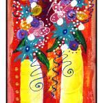 """""""Bistro Floral #3"""" by wasankari"""