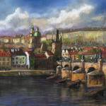 """Prague Panorama"" by shevchukart"