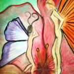 """Butterfly Fairies"" by dinnerissublime"