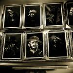 """Homage, film icons, velvet painting, Tijuana"" by davidleeguss"