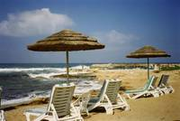 Beach at Paphos, Cyprus