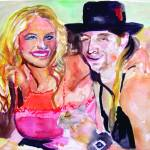 """Pam Anderson and Kid Rock"" by jobijovanka"
