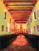 Interior Mission San Diego