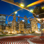 """Millennium Park At night"" by PatrickWarneka"