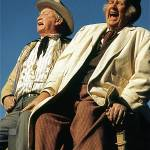 """Homage, John Wayne, Chill Wills & Andy Devine"" by davidleeguss"
