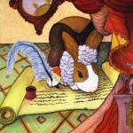 """Baroque bunny"" by krauseda"