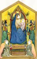 Madonna Bunny Enthroned