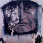 """Homage, John Wayne, Iron Eyes Cody, The Big Trail"" by davidleeguss"
