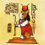 """""""Egyptain Bunny"""" by krauseda"""