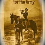 """Homage, John Wayne, ""Men Wanted for the Army"""" by davidleeguss"