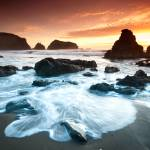 """Sunset at Rodeo Beach"" by canbalci"
