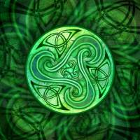 """Celtic Triskele"" by foxvox"