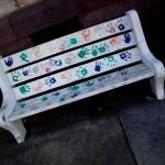 """Kid Painted Bench"" by shmooples"