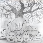"""""""Happy Halloween"""" by Jessicar7501"""
