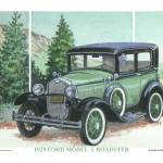 """1929 Ford Model A"" by Proartist"