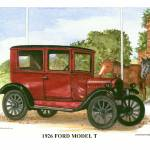 """1926 Ford Model T"" by Proartist"