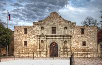 Snow At The Alamo