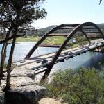 """Lake Austin Pennybacker Bridge over"" by johnfrench"