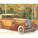 """1933 Pierce Arrow Model 1247"" by Proartist"