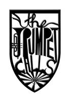 the trumpet calls (black, beveled)