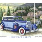 """1933 Pierce Arrow"" by Proartist"