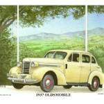 """1937 Oldsmobile"" by Proartist"