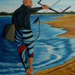 """Kite Surfer"" by anthonydunphy"