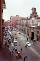 Calle Moneda Window View of the National Palace