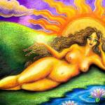 """Sun Goddess"" by Ninasart"