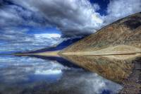 Badwater Reflection, Death Valley