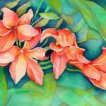 """Island Plumeria"" by laurenmcmullen"