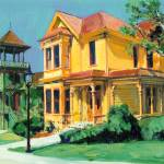 """Victorian Mansions by RD Riccoboni"" by BeaconArtWorksCorporation"