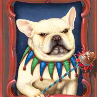 French Bulldog - The Jester Art Prints & Posters by Tara Reed