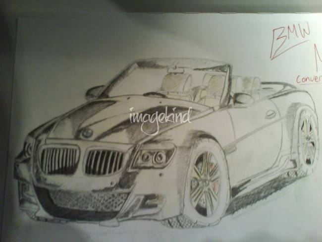 """Stunning """"Bmw"""" Pencil Drawings And Illustrations For Sale"""