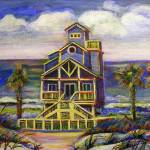 """Blue Beach House"" by CDarleneCollins"