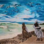 """The Beach of Destiny"" by elenabrodskaya"