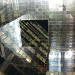 """Atrium (looking up) of 1 London Bridge"" by rebogamy"