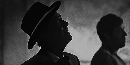 Film noir homage, Robert Taylor,