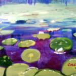 """""""Water lily Patch"""" by CDarleneCollins"""