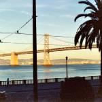 """San Francisco Bay Bridge"" by amberbrockoppphoto"