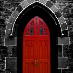 """church door web"" by here_and_now"