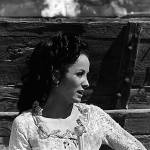 """TV homage, Linda Cristal, ""The High Chaparral"""" by davidleeguss"