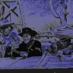 """TV homage, gunfight, Apaches, ""The High Chaparral,"" by davidleeguss"