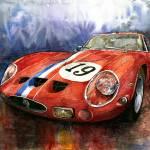 """""""Ferrari 250 GTO 1963"""" by shevchukart"""