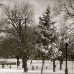 """""""Old Fashioned Winter Scene"""" by jamm2323"""