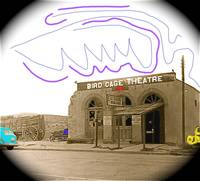 Theater homage, Birdcage, c.1934, Tombstone, AZ