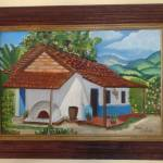 """Casa Típica Costarricense 1"" by belladiazpaints"