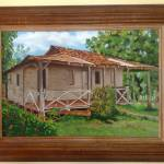 """""""Casa Antigua Barón de Esparza"""" by belladiazpaints"""